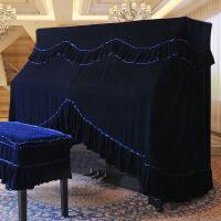 ?猛士美居钢琴罩全罩半罩加厚丝绒欧式防尘罩全包钢琴披钢琴凳套
