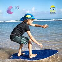 SundayAfternoons美国Chaser儿童防晒太阳运动护耳帽可拆卸2和1