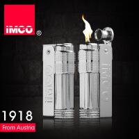 IMCO 爱酷品牌 金属煤油防风打火机 时尚复古礼品火机 LOGO麻点全银