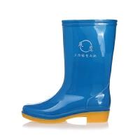 高筒雨鞋男雨靴 耐酸碱水靴牛筋底劳保胶靴三防水鞋