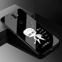 诺基亚8Sirocco玻璃手机壳女款8 Sirocco保护套Nokia ta-1042全包硅胶婚纱防