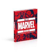 现货 英文原版 DK百科系列 漫威之书 精装 The Marvel Book: 拓展漫威宇宙的知识点 漫威周边 美漫图册