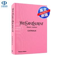 英文原版 圣罗兰T台秀1962-2002时装摄影集全集 YSL Catwalk The Complete Haute C