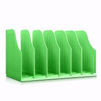 BINB必因必 AE01荧光绿魔动书架 王芳创意文具 学生桌面书架 办公桌收纳架 书本文件筐 可调节可移动 环保礼品