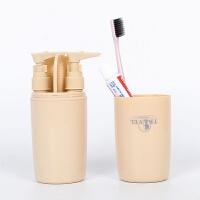 旅行洗漱用品多功能洗漱杯套装户外旅游便携洗漱包出国牙刷收纳盒