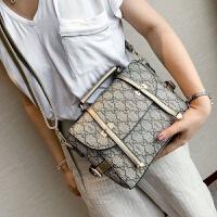 女包手提包2018夏季新款包包欧美时尚单肩包经典印花斜挎包包小包