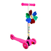 【当当自营】炫梦奇三轮儿童滑板车 健身车 闪光轮高度可调节 小童款粉色