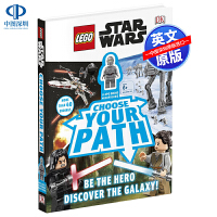 英文原版 DK 乐高星球大战 选择自己的路附迷你公仔 LEGO Star Wars Choose Your Path 儿