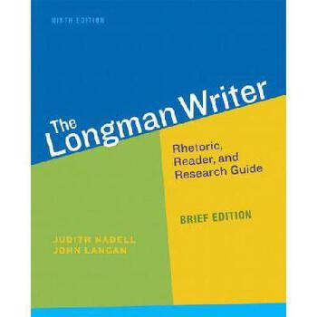 【预订】Longman Writer, The, Brief Edition 美国库房发货,通常付款后3-5周到货!
