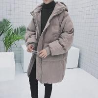 冬季新款中长款棉衣面包服韩版潮流棉袄男士冬天外套衣服冬装
