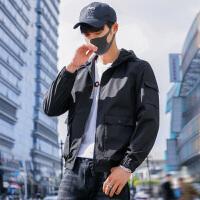 夹克男春季新款韩版潮流春秋季修身帅气青年休闲男士学生外套