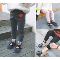 中小童装韩版冬季新款女童加绒加厚打底裤保暖裤百搭修身A7-S55