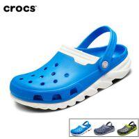 Crocs卡骆驰洞洞鞋 男女同款极速迪特厚底夏季沙滩凉鞋|201398 极速迪特