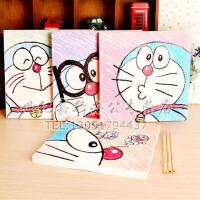 蓝胖子 哆啦A梦   空白绘画本 涂鸦本学生文具韩国创意美术画画本子