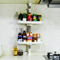 宝优妮 厨房壁挂式调料架厨房用品置物架顶天立地调味架三层架角架