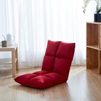 懒人榻榻米坐垫靠背一体可折叠拆洗地板坐垫加厚阳台床上电脑靠垫