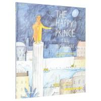【T&H】The Happy Prince 快乐王子:奥斯卡・王尔德的故事 英文原版儿童艺术绘本