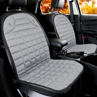 汽车坐垫汽车坐垫冬季加热座垫冬天车载电加热垫后排座椅车垫12V通用用品 双座 灰色