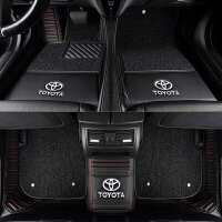 20181020144450429适用于丰田新卡罗拉雷凌双擎RAV4荣放凯美瑞老锐志全包围汽车脚垫