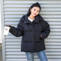 冬季棉袄韩版学生加厚面包服原宿羽绒棉衣女宽松外套