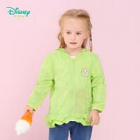 【3件3折到手价:64.5】迪士尼Disney女童轻薄透气防晒服婴儿卡通连帽外套161S757