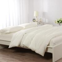 新品秒杀日式良品四件套水洗棉格子纯棉被套全棉床单床笠简约日式床上用品