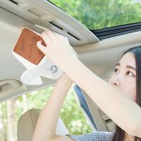 挂式 车用车载纸巾盒车内创意挂式遮阳板纸盒汽车用品天窗抽纸盒SN1678