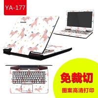 联想ideapad 300 500S天逸100 310笔记本贴膜14/15.6寸电脑贴纸