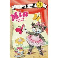 英文绘本 原版进口 Mia Sets the Stage 米娅的舞台 [4-8岁]