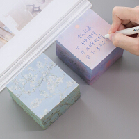 韩国便签纸创意加厚便利贴学生用小清新便签本小本子文具用品批发