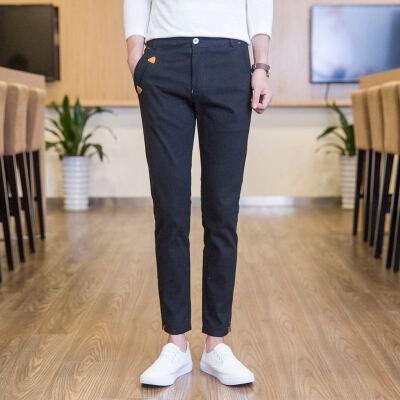 修身裤休闲裤男裤子长裤