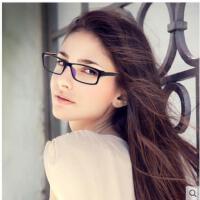 商务眼镜学生平光镜男女款近视眼镜框TR90轻盈全框眼镜架配近视镜成品