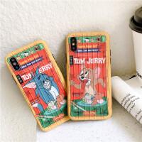 童年回忆猫和老鼠iPhoneXSMax手机壳苹果xr/x/8plus/7p/6s情侣软 7/8代(4.7) 露齿汤姆猫