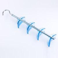 易时代创意包包收纳架挂钩衣柜围巾丝巾多层可旋转壁挂包架挂包钩 蓝色