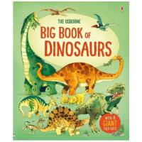 Big Book of Dinosaurs (Big Books) 英文原版 儿童认知大书:恐龙