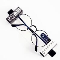 防辐射眼镜框男女近视抗蓝光看手机电脑保护眼睛护目镜平面平光镜