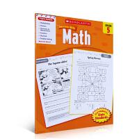 华研原版 美国小学五年级数学练习册 英文原版书 进口英语教材 Scholastic Success with Math