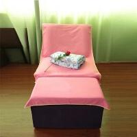 足浴沙发巾 套订做沙发垫 防滑足疗纯棉床单浴场足浴巾按摩椅印字