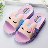 儿童拖鞋秋季女卡通可爱女童小公主洗澡室内滑韩版儿童凉拖