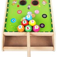 保龄球玩具儿童幼儿迷你台球桌球类婴儿童益智弹力1-3岁半2保龄球男孩女宝宝玩具A 趣味桌球