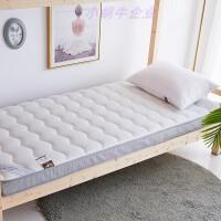 床上新款灰色折叠式卧床简易宿舍垫被可收纳布料拆卸酒店单人床垫