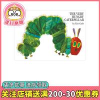 【预订】好饿的毛毛虫纸板书 The Very Hungry Caterpillar 英文原版儿童绘本