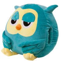继承者们猫头鹰娃娃玩偶暖手抱枕/靠垫毛绒玩具公仔生日礼物