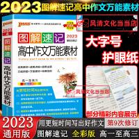 图解速记高中作文素材2020版全国通用版pass禄卡高考复习资料