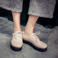 英伦风春秋鞋儿童鞋女童黑色皮鞋小女孩系带深口休闲学生大童单鞋SN3100
