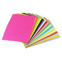 【支持礼品卡】a4纸打印纸a4复印纸100张80g彩纸手工折纸混色装大红色黑色灰色粉红粉色黄色荧光学生儿童薄软纸 kq7