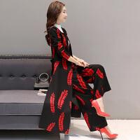 长款风衣女韩版2018春秋新款韩版修身显瘦两件套风衣过膝外套