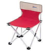 铝合金靠背椅写生椅马扎 户外折叠椅子便携露营沙滩鱼凳画凳