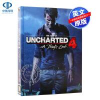 英文原版 The Art of Uncharted 4 神秘海域4 游戏艺术书 精装画册