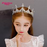 女孩头箍儿童皇冠头饰公主女童王冠发夹发饰发箍演出饰品